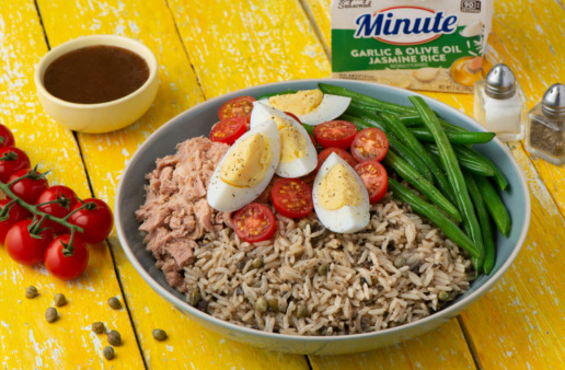 Tuna and Rice Nicoise