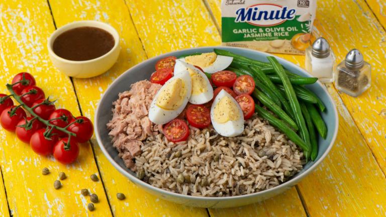 Tuna and Rice Niçoise Salad