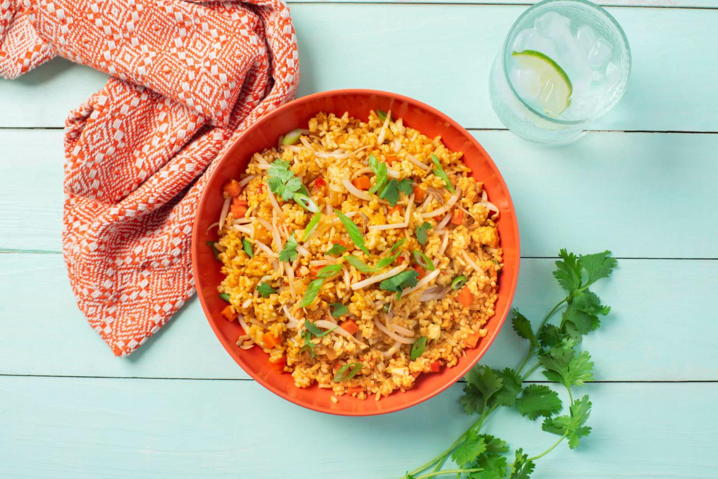 Quick Nasi Goreng With Jasmine Rice
