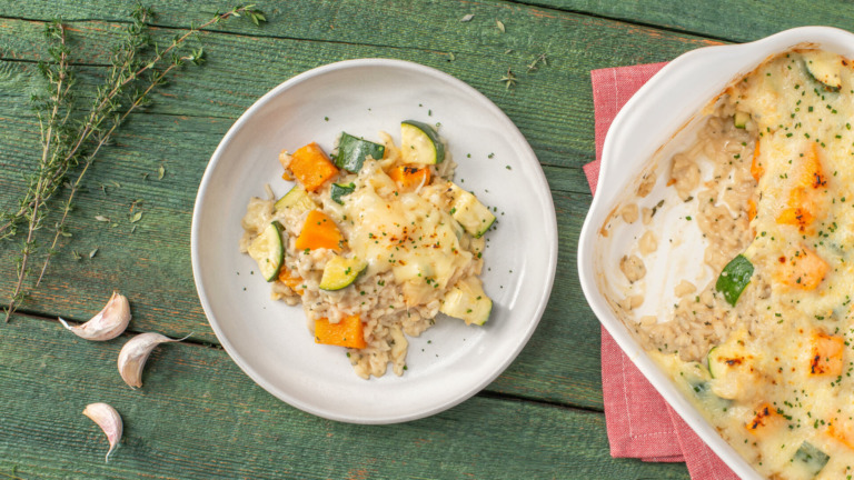 Squash, Zucchini and Rice Casserole