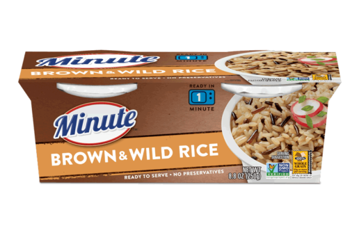 Minute® Ready to Serve Brown & Wild Rice