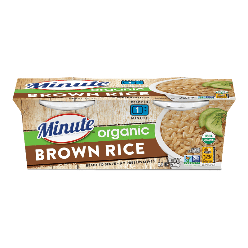 Ready to Serve Organic Brown Rice
