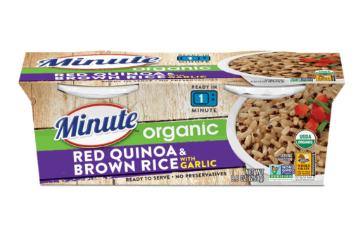 Minute® Ready to Serve Organic Red Quinoa & Brown Rice with Garlic