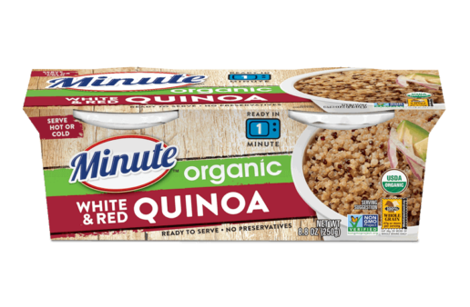 Minute® Ready to Serve Organic White & Red Quinoa