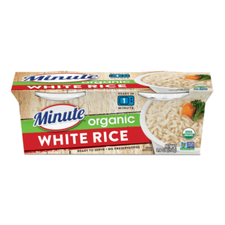 Minute® Ready to Serve Organic White Rice