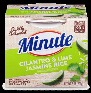 Minute® Ready to Serve Cilantro & Lime Jasmine Rice