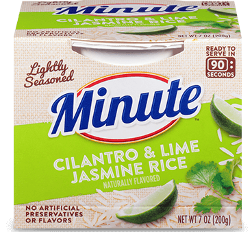 Minute® Ready to Serve Cilantro & Lime Jasmine Rice