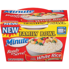 Ready to Serve White Rice Family Bowl