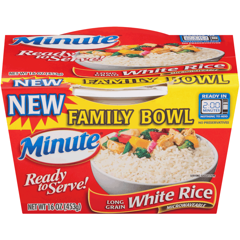 Minute® Ready to Serve White Rice Bowl