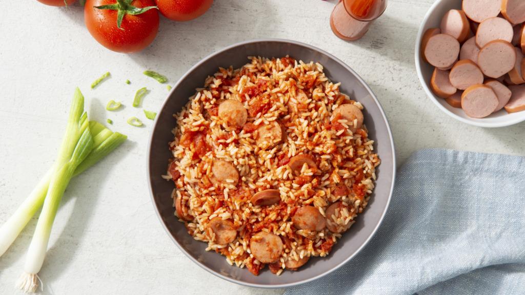15-minute-jambalaya-with-tomato-and-sausages