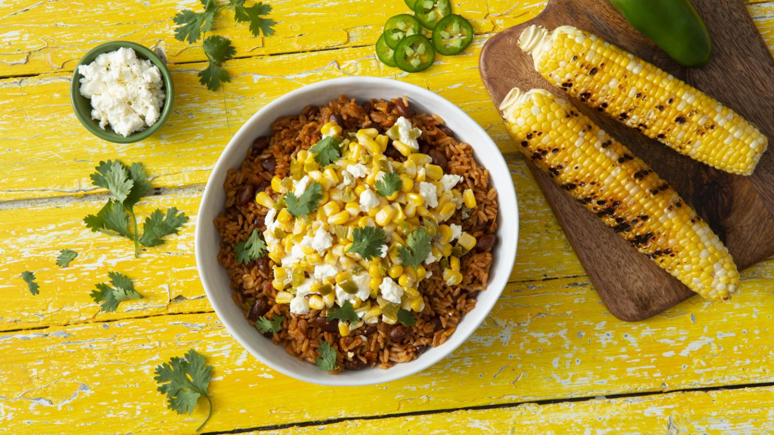 Street-Corn Style Rice Bowl