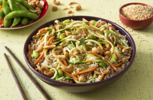 jasmine-rice-bowl-with-zucchini-noodles-edamame-and-carrots