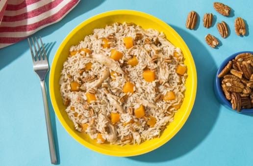 Butternut Squash and Chicken Rice Recipe