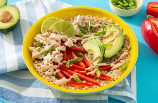 rice-bowl-with-spicy-chipotle-tuna-white-rice-avocado-and-red-peppers