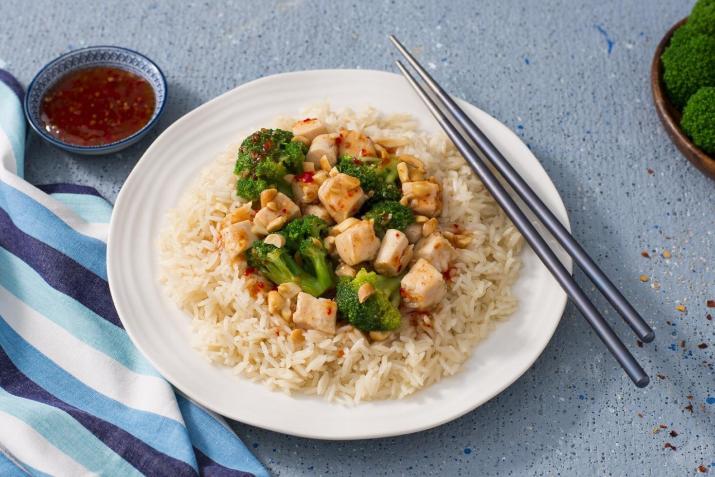 Sweet Chili Chicken Rice