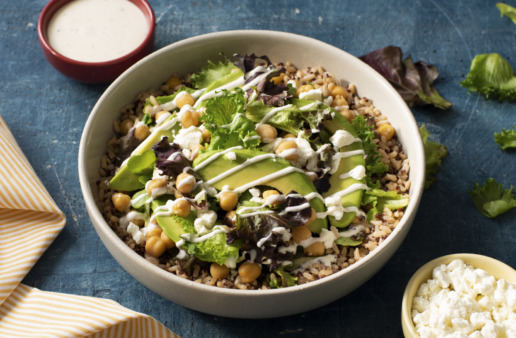 whole-grains-bowl-with-quinoa-brown-rice-goat-cheese-avocado-lettuce-and-ranch-dressing
