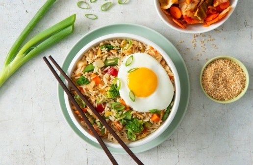 fried-rice-with-fried-egg-kimchi-and-jasmine-rice