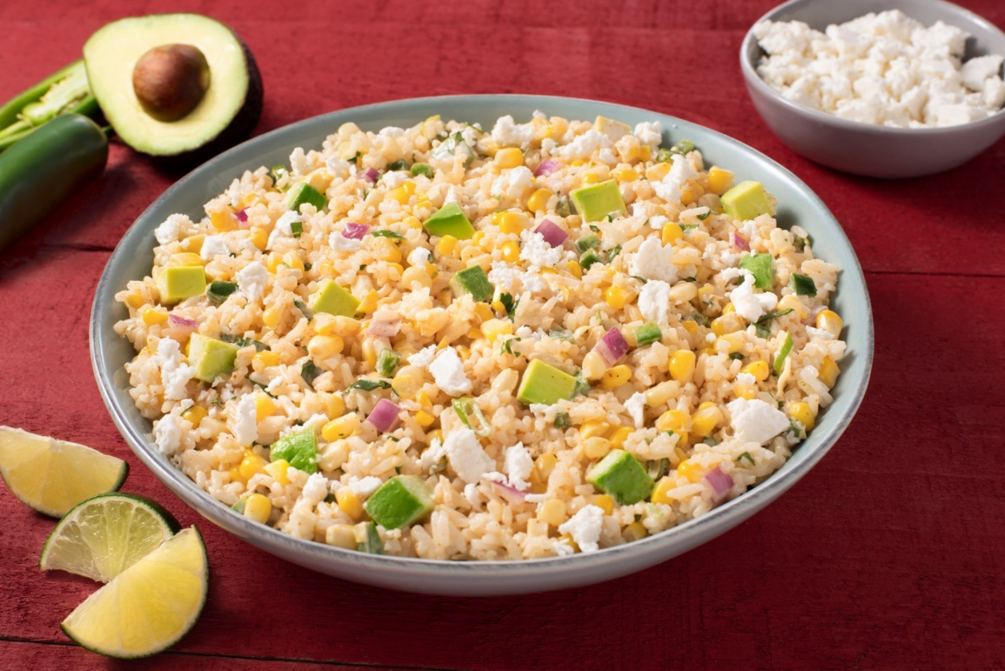 Mexican Street Corn and Rice Salad