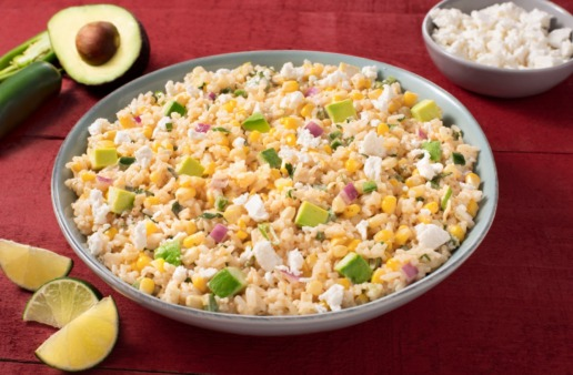 mexican-street-corn-rice-salad-with-jasmine-rice-avocado-and-jalapeño-peppers