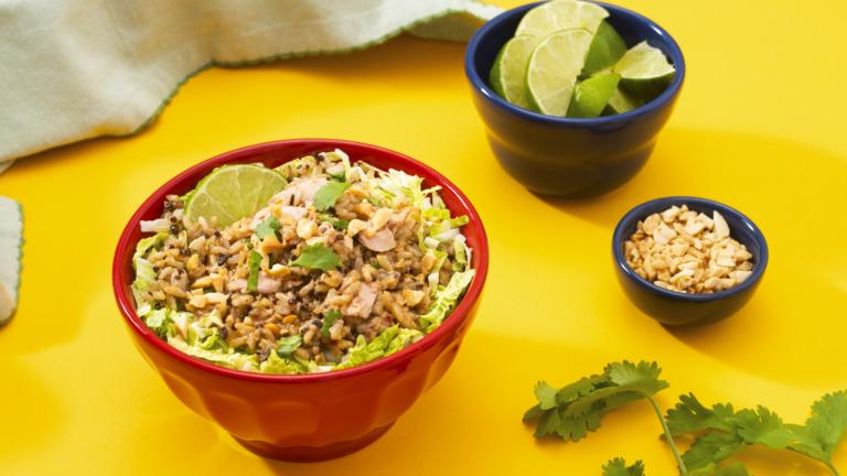 Thai Tuna Rice Salad