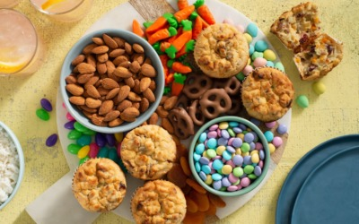 Sweet Easter Treats with Rice and Quinoa