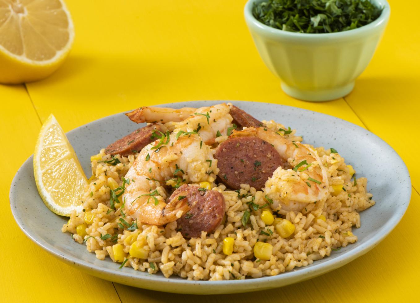 Cajun Shrimp Boil Rice
