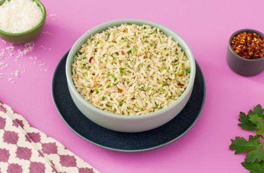 rice-bowl-with-jasmine-rice-parmesan-cheese-italian-seasoning-and-chopped-parsley