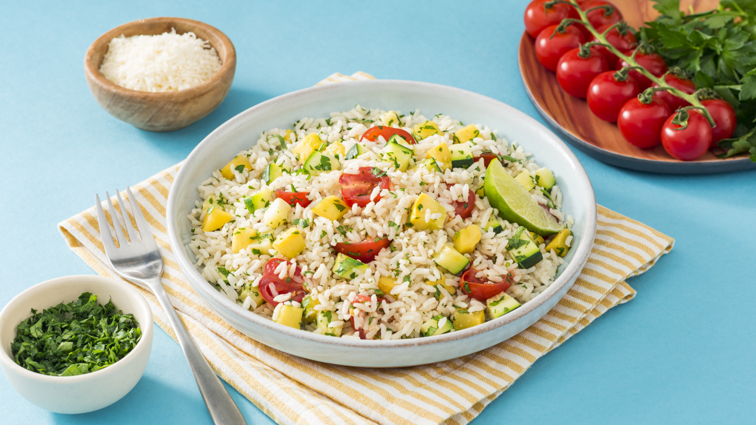 Summer Squash Rice