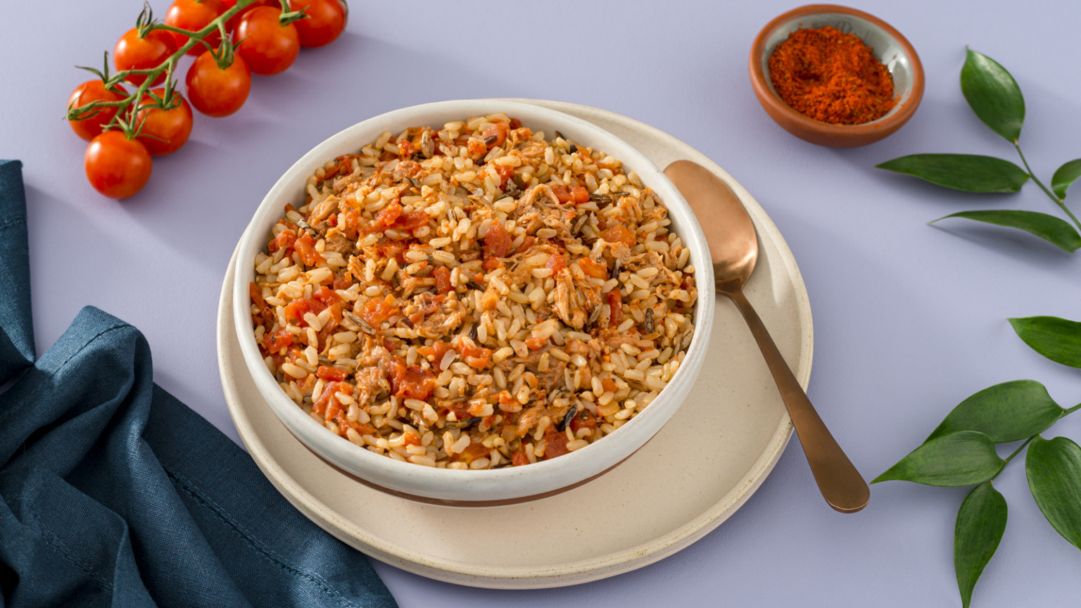 Spicy Pulled Pork Brown Rice