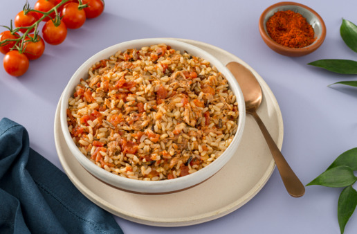 spicy-pulled-pork-with-brown-and-wild-rice