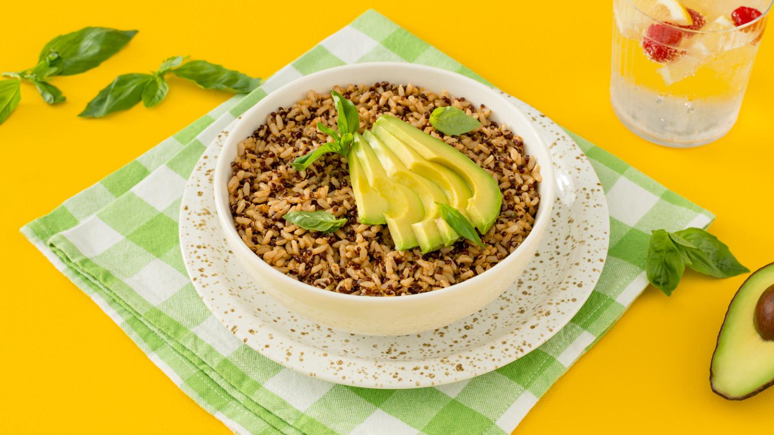 Spiced Quinoa Rice