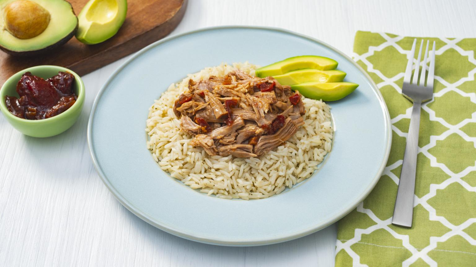 Birria with Rice