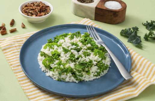 Garlic-Butter-Kale-Rice-with-jasmine-rice