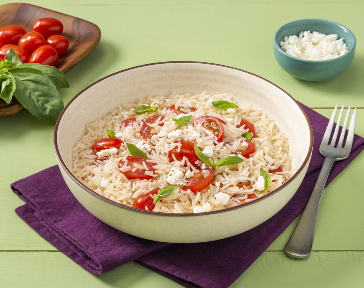 Feta and Tomato Rice