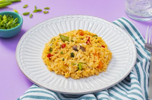 teriyaki-fried-rice-recipe-with-egg-yolks-and-sriracha