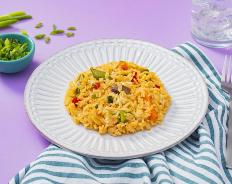 Golden Teriyaki Fried Rice