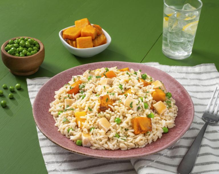 Leftover Turkey Dinner Rice