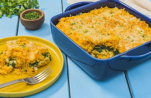 casserole-recipe-with-pumpkin-spinach-and-jasmine-rice